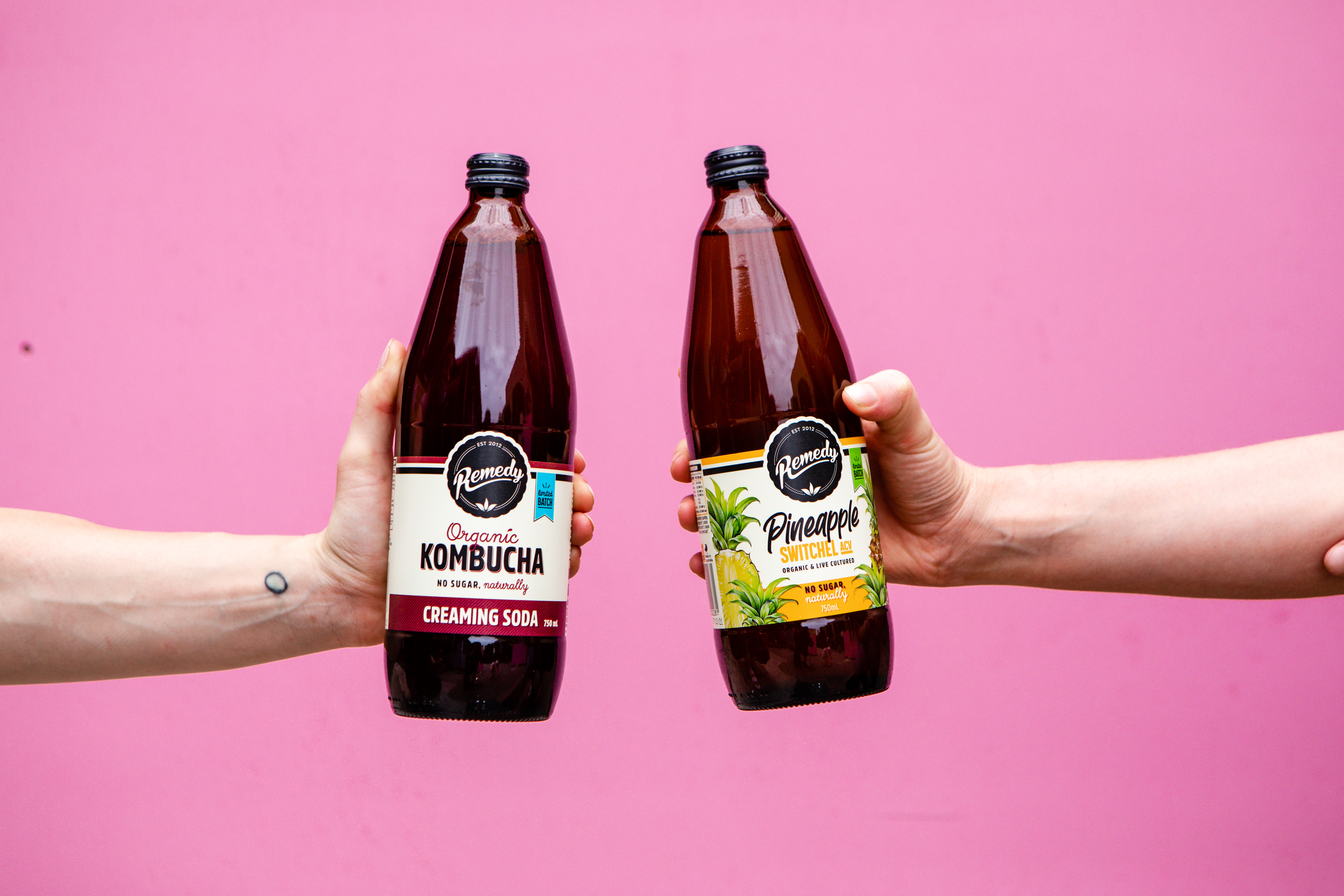 Limited Edition flavours of Remedy Drinks