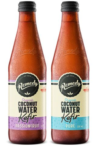 Remedy Coconut Water Kefir Mixed Case