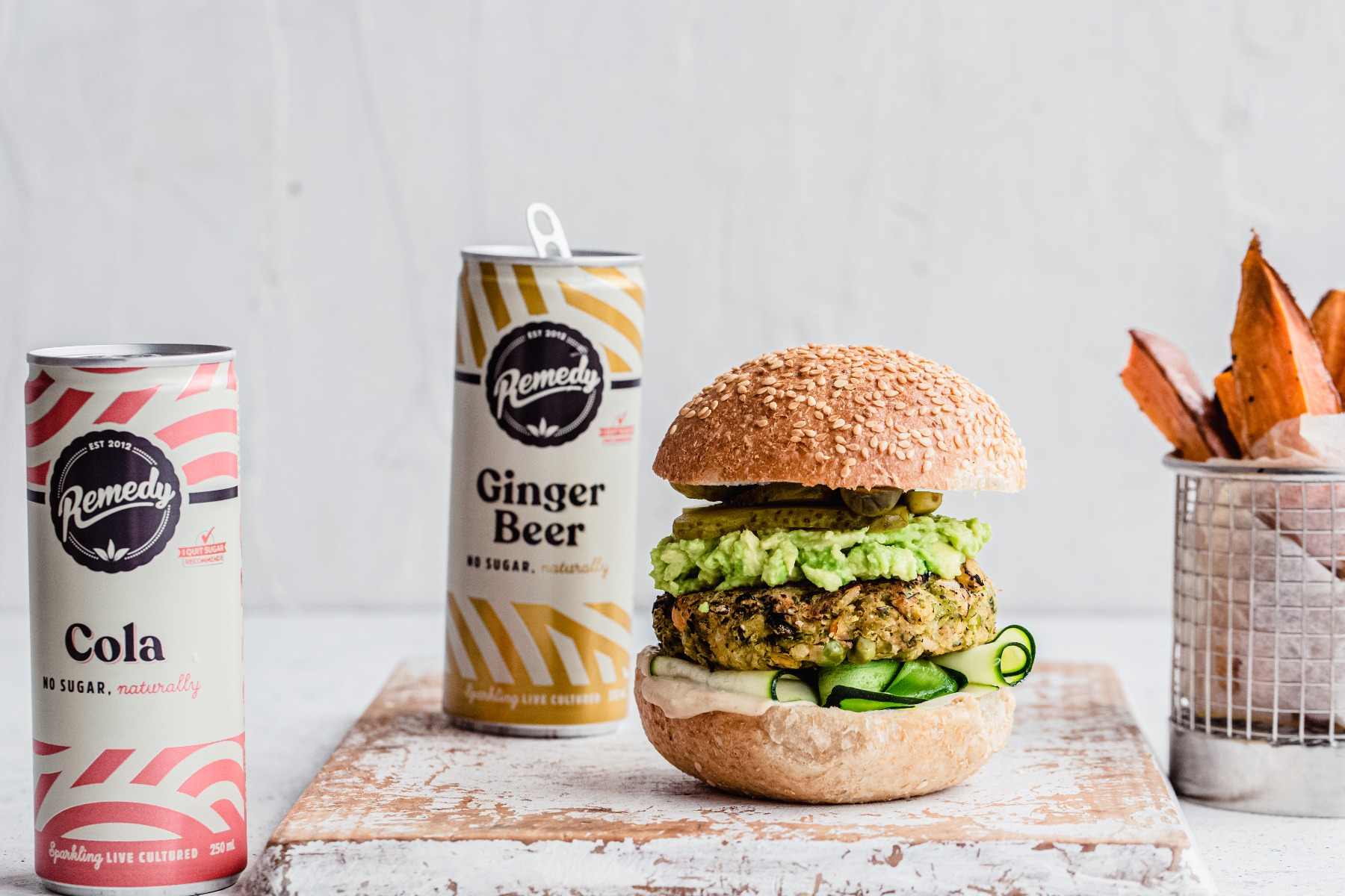 Pea and Brown Rice Burgers