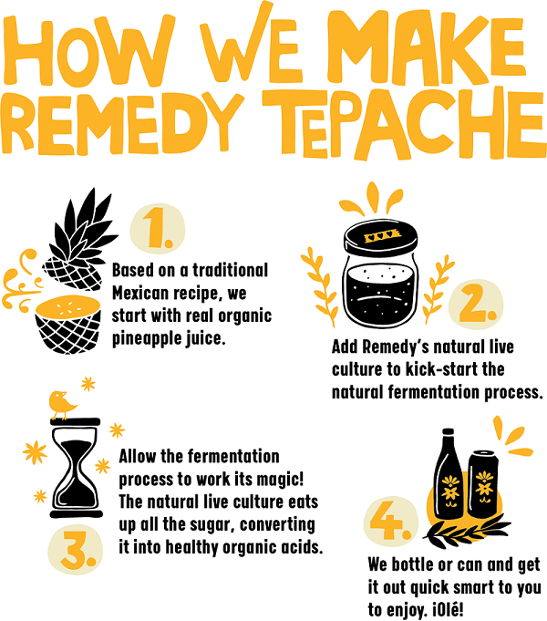 how remedy tepache is made
